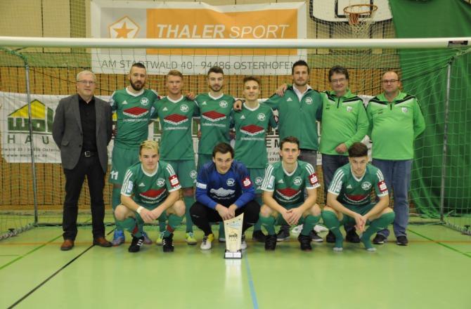 Erste Mannschaft siegt beim Wolfhaus-Cup | SV Schalding-Heining e.V.
